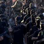 Islamic Jihad rally in the east of Khan Younis town in the southern Gaza Strip,